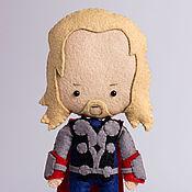 Куклы и игрушки ручной работы. Ярмарка Мастеров - ручная работа Тор - кукла по мотивам фильма Мстители. Handmade.