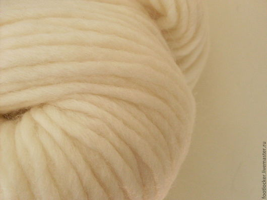 Валяние ручной работы. Ярмарка Мастеров - ручная работа. Купить Шерсть ровница (Германия), Белый, 10 м (10 гр). Handmade.