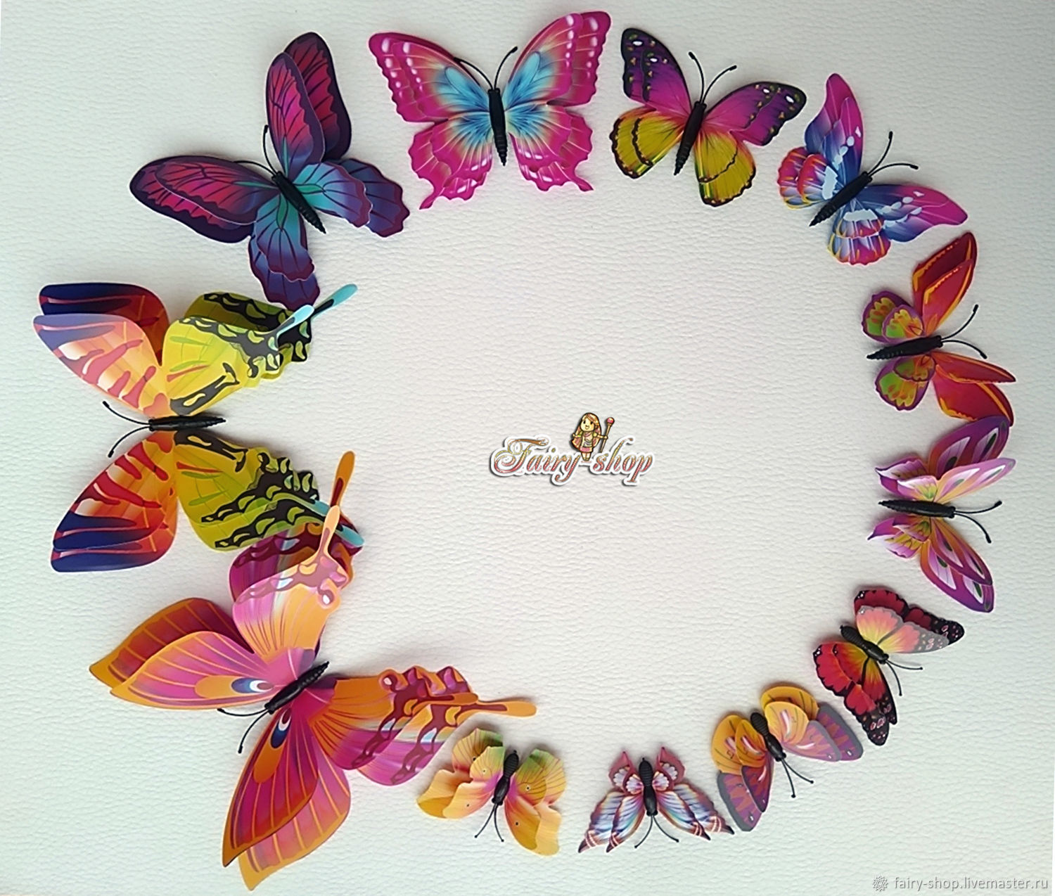 Butterfly 'Double wings', a vibrant mix, Interior elements, St. Petersburg,  Фото №1