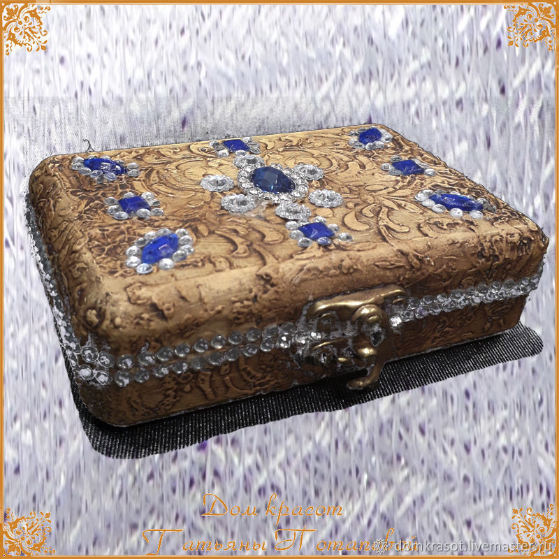 "Snuffbox ""Tanzanite"", Box, Moscow,  Фото №1"