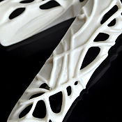handmade. Livemaster - original item Set of elongated brooches, sponge china. Handmade.