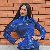 """Одежда ручной работы. Ярмарка Мастеров - ручная работа Пальто валяное """"Дафни"""". Handmade."""