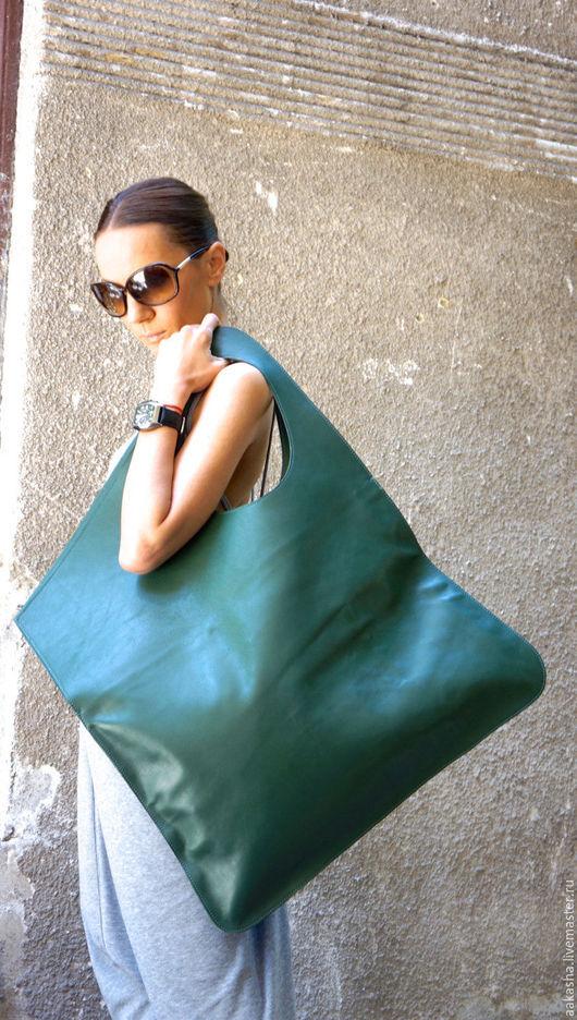 сумка кожаная сумка сумка из кожи зеленая сумка дизайнерская сумка сумка ручной работы сумка из натуральной кожи