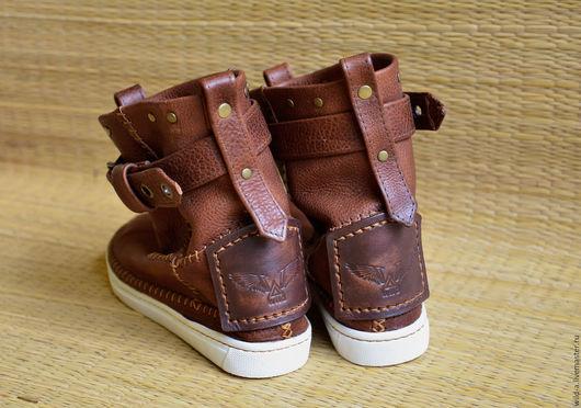 Обувь ручной работы. Ярмарка Мастеров - ручная работа. Купить Сапоги Wild Original. Handmade. Коричневый, женские сапоги
