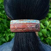 Украшения ручной работы. Ярмарка Мастеров - ручная работа Заколка в этно стиле №5. Handmade.