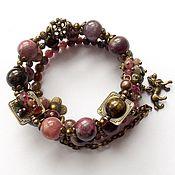 Украшения handmade. Livemaster - original item Bracelet Vintage natural tourmaline. Handmade.