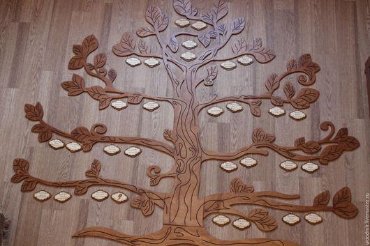 Персональные подарки ручной работы. Ярмарка Мастеров - ручная работа. Купить Генеалогическое дерево. Handmade. Коричневый, генеалогическое дерево