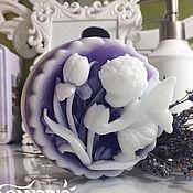 Косметика ручной работы. Ярмарка Мастеров - ручная работа Мыло ручной работы Ангел с тюльпанами. Handmade.