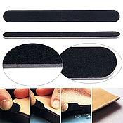 Инструменты для работы с кожей ручной работы. Ярмарка Мастеров - ручная работа Наждачная пилка для отделки и полировки уреза. Handmade.