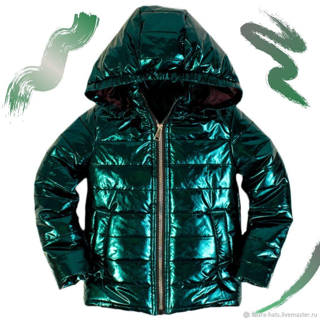 Одежда для девочек, ручной работы. Ярмарка Мастеров - ручная работа. Купить Куртка для девочки демисезонная Куртка детская лаковая. Handmade.