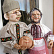 Дед и Баба. Куклы. Галина Юцикова.. Ярмарка Мастеров. Фото №5