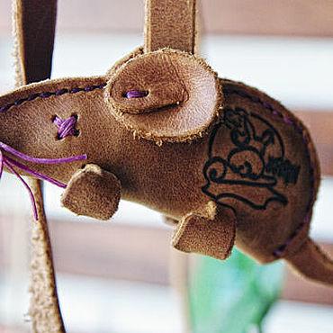 Товары для питомцев ручной работы. Ярмарка Мастеров - ручная работа Мышки для любимой кошки. Фиолетовая.. Handmade.
