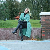 Одежда manualidades. Livemaster - hecho a mano Knitted coat. Handmade.