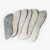 Обувь ручной работы. Ярмарка Мастеров - ручная работа Стельки меховые из овчины. Handmade.