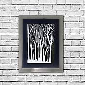 Картины ручной работы. Ярмарка Мастеров - ручная работа Картины: Деревья. Handmade.