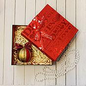 Подарки к праздникам ручной работы. Ярмарка Мастеров - ручная работа Шарики на елку (новогодние елочные игрушки). Handmade.