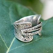 Украшения handmade. Livemaster - original item Bohemian Style ring made of silver HH0033. Handmade.