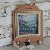 """Для дома и интерьера ручной работы. Ярмарка Мастеров - ручная работа ключница """"Где -то в Италии"""". Handmade."""