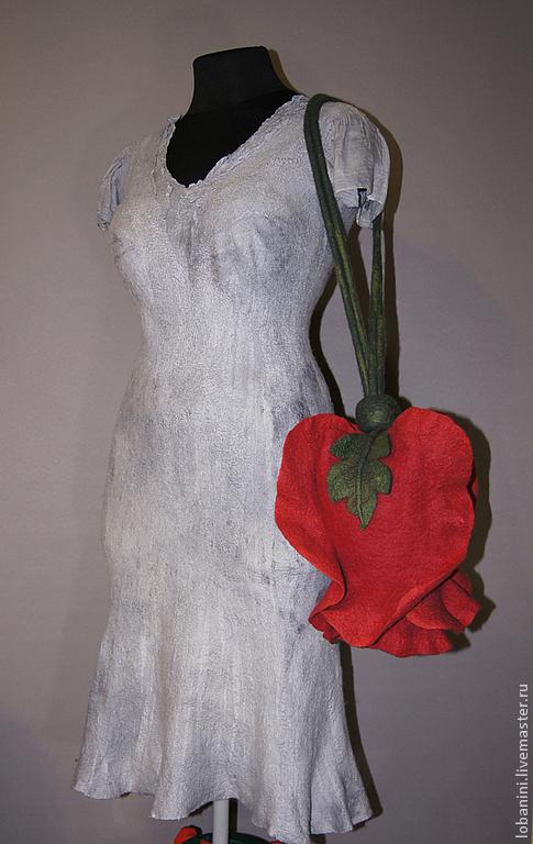 Женские сумки ручной работы. Ярмарка Мастеров - ручная работа. Купить Арт-сумка роза Dame de Coeur. Handmade.