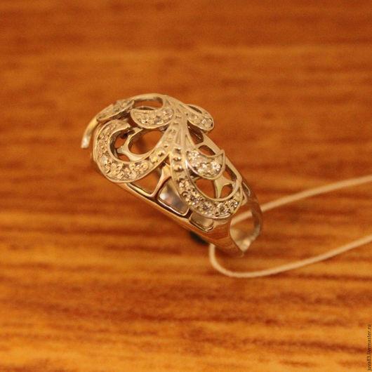 Кольца ручной работы. Ярмарка Мастеров - ручная работа. Купить Серебряное кольцо Аделаида, серебро 925. Handmade. Серебряный, кольцо