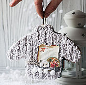 Подарки к праздникам ручной работы. Ярмарка Мастеров - ручная работа Мини альбом - свитер. Handmade.