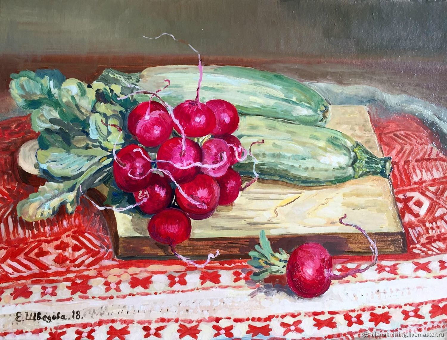 Oil painting still life 'a New crop', Pictures, Moscow,  Фото №1