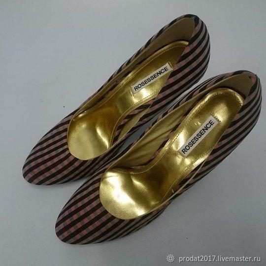 Винтаж: Туфли женские розовые, Винтажная обувь, Москва,  Фото №1