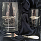 A Set Of 'Sturgeon. FISHING' (stack, glass, snack fork), Gifts for hunters and fishers, Zhukovsky,  Фото №1