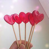 Подарки к праздникам ручной работы. Ярмарка Мастеров - ручная работа Леденец на палочке Сердце. Handmade.
