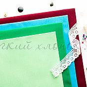 Материалы для творчества ручной работы. Ярмарка Мастеров - ручная работа (№67)Ткань бязь однотонная хлопок 100% для тильды, шитья и пэчворка. Handmade.