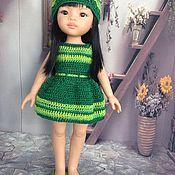 """Куклы и игрушки ручной работы. Ярмарка Мастеров - ручная работа наряд для кукол паола рейна """"Яркая зелень"""". Handmade."""