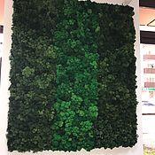 Для дома и интерьера handmade. Livemaster - original item Panel made of live moss from the manufacturer. Handmade.
