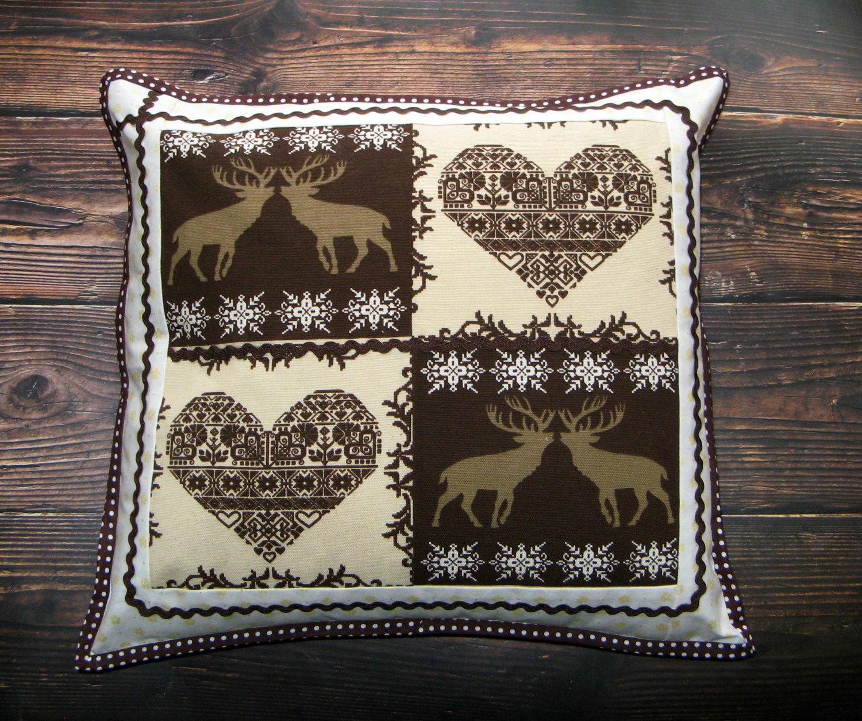 Подушка, декоративная наволочка в скандинавском стиле, Подушки, Лесной Городок,  Фото №1