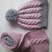 """шапка + шарф """"Мечта"""""""
