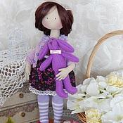Куклы и игрушки ручной работы. Ярмарка Мастеров - ручная работа Текстильная интерьерная кукла ВИОЛЕТТА. Handmade.