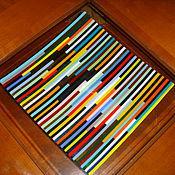 """Посуда ручной работы. Ярмарка Мастеров - ручная работа Тарелка """"Разноцвет"""". Handmade."""