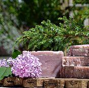 """Косметика ручной работы. Ярмарка Мастеров - ручная работа """"Сирень"""" натуральное мыло с нуля. Handmade."""