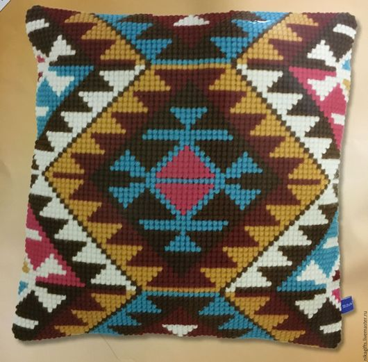 Текстиль, ковры ручной работы. Ярмарка Мастеров - ручная работа. Купить Орнамент 2. Handmade. Подушка, вышитая подушка