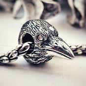 "Украшения handmade. Livemaster - original item Charm ""Three-eyed Raven"" from ""GOT"" collection. Handmade."