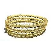 Украшения handmade. Livemaster - original item Bracelet made of natural amber f 6mm. Handmade.