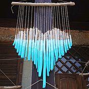 Для дома и интерьера handmade. Livemaster - original item Driftwood hanging Heart Sea wave. Handmade.
