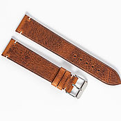 Украшения handmade. Livemaster - original item Red waxed Genuine Leather Strap. Handmade.