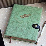 Канцелярские товары handmade. Livemaster - original item Notebook Forest. Handmade.