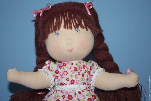 Вальдорфская игрушка ручной работы. Ярмарка Мастеров - ручная работа. Купить Дуся вальдорфская кукла. Handmade. Вальдорфская кукла
