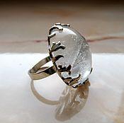 Кольца ручной работы. Ярмарка Мастеров - ручная работа Горный хрусталь кольцо. Handmade.