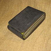 Wallets handmade. Livemaster - original item Compact wallet. Indigo-herbs. Handmade.