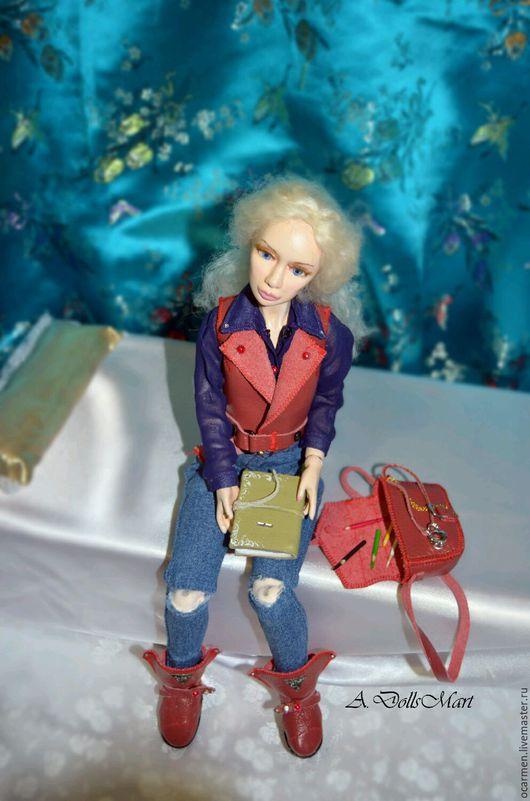 Коллекционные куклы ручной работы. Ярмарка Мастеров - ручная работа. Купить Авторская шарнирная кукла (BJD) - Кэтрин.. Handmade.