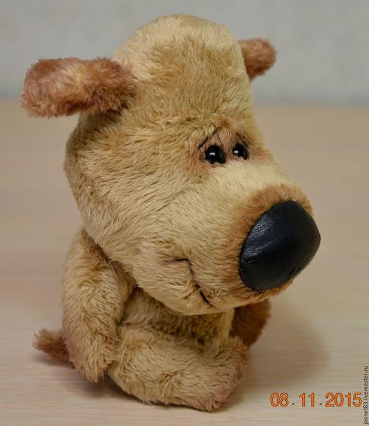 Мишки Тедди ручной работы. Ярмарка Мастеров - ручная работа. Купить Носатая собачка. Handmade. Коричневый, носатая собачка