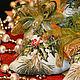 Новый год 2017 ручной работы. Колокольчик текстильный Мелодия леса. Ирискины штучки (IrisGifts). Ярмарка Мастеров. Елочные украшения