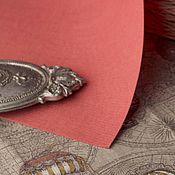Материалы для творчества ручной работы. Ярмарка Мастеров - ручная работа Основа для вышивки L 39х27см Лосось. Handmade.